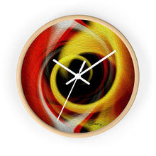 "Load image into Gallery viewer, ""Temporal Vortex 4"" 10"" Fine Art Wall Clock"