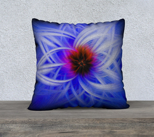 """Magnificent Wonder 1"" 22""x22"" Fine Art Pillow Case"