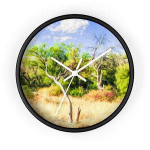 """A Place of Serenity 3"" 10"" Fine Art Wall Clock"