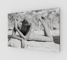 "Load image into Gallery viewer, ""Naked Embrace"" Fine Art Canvas"