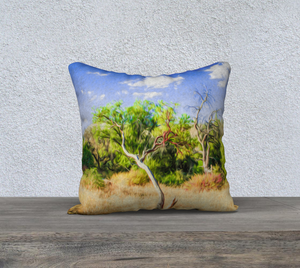 """A Place of Serenity 3"" 18""x18"" Fine Art Pillow Case"