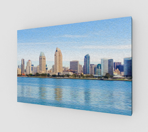 """America's Finest City"" Fine Art Canvas"