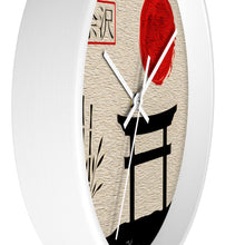 "Load image into Gallery viewer, ""Asian Reflections 6"" 10"" Fine Art Wall Clock"
