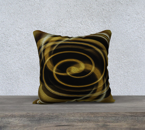 """Dimensional Paradox 6"" 18""x18"" Fine Art Pillowcase"