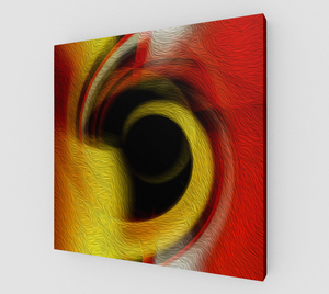 """Spatial Gateway Series: Temporal Vortex 1"" Fine Art Canvas"