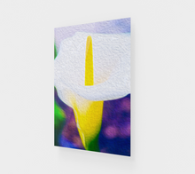 "Load image into Gallery viewer, ""Calla Lily Blossom I"" Fine Art Acrylic Print"