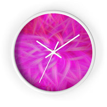 "Load image into Gallery viewer, ""Floral Imprint"" 10"" Fine Art Wall Clock"