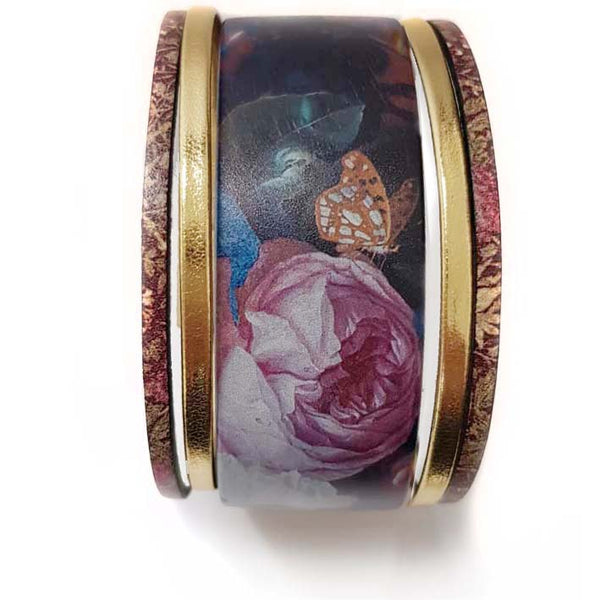Art Bracelet, De Heem Flowers, 40mm