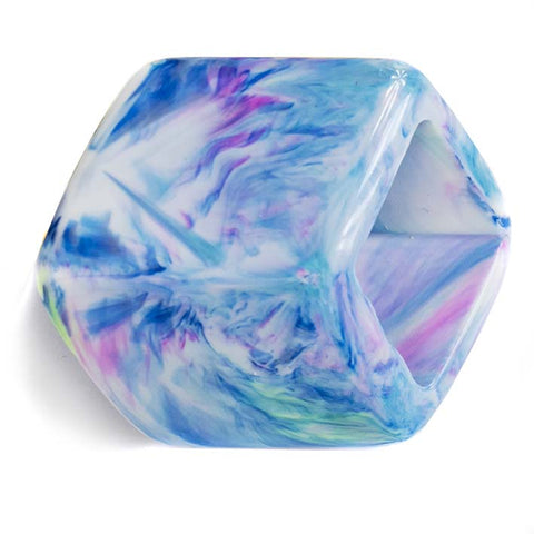 Losse Cube Marble Blue.(MB)