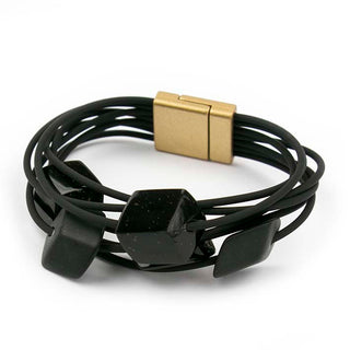 Armband Cube, 5 mini, Black star