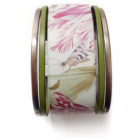 Art Bracelet, Marrel Flowers, 40mm