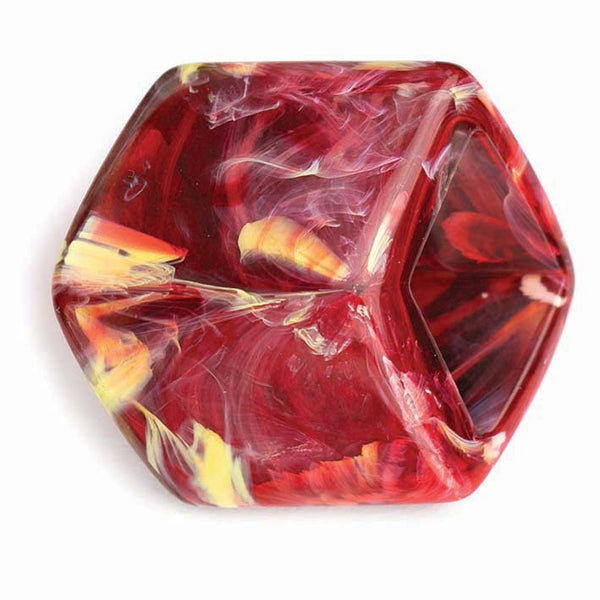 Losse Cube Marble Red (MR)  NIEUW!!