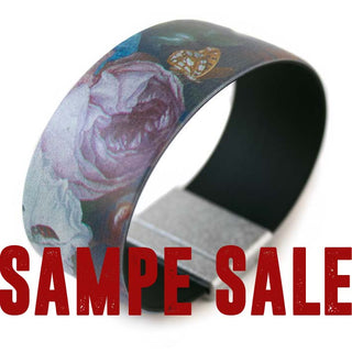 SAMPLESALE Art Bracelet, Heem Flowers, 25mm