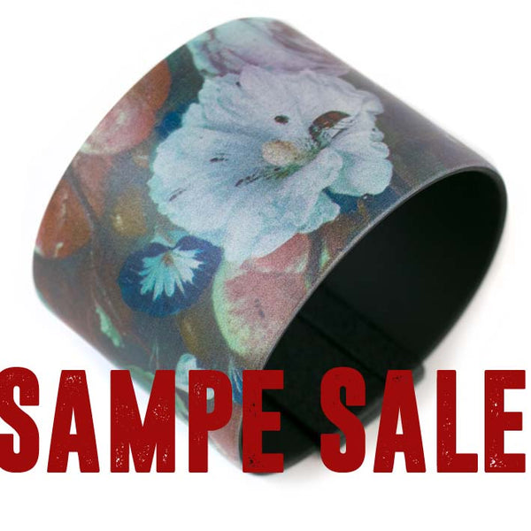 SAMPLE SALE Art Bracelet, De Heem Fruit & Flowers, 50mm