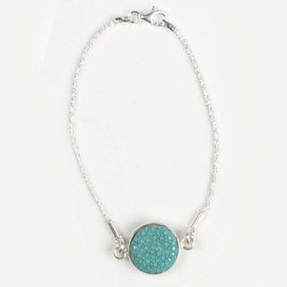 CANDY armband turquoise/zilver