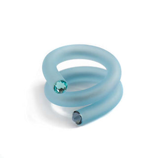 Twisted ring, Blue