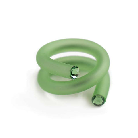Twisted ring, Green