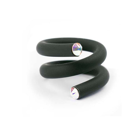 Twisted ring, Black/ white