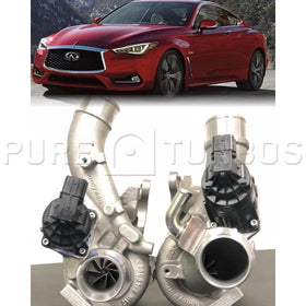 Q50/Q60 VR30 Stage 2 Pure Turbos