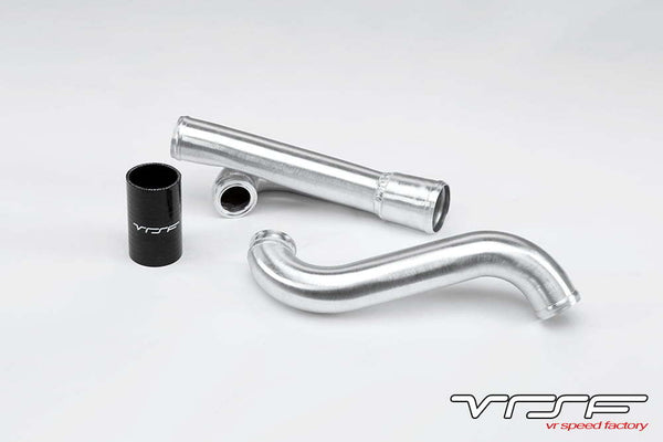 VRSF N54 Aluminum Turbo Outlet Charge Pipe 07-13 BMW 135i/535i/Z4/1M E82/E88/E89/E60 - Coupler / Clamp
