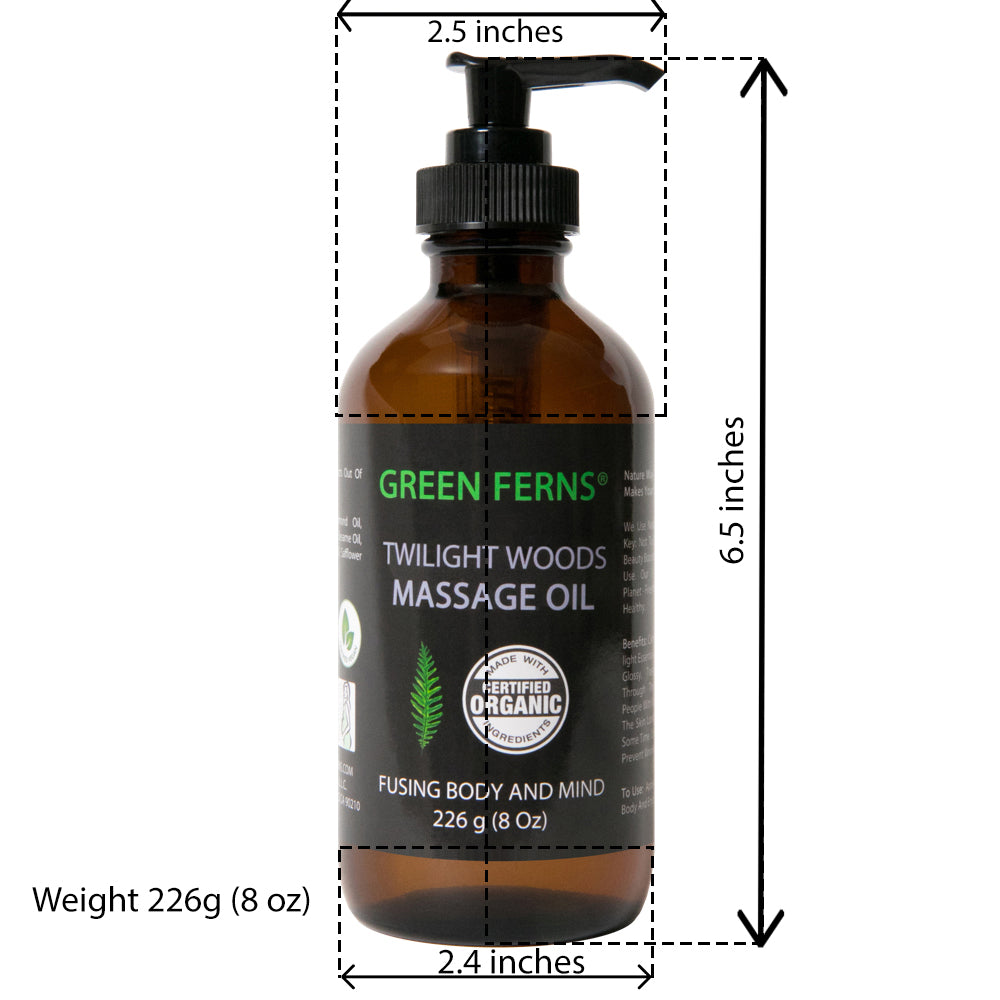 Twilight Woods Massage Oil