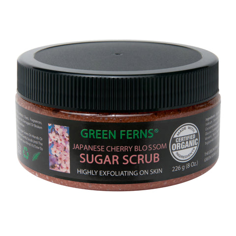 Japanese Cherry Blossom Sugar Scrub