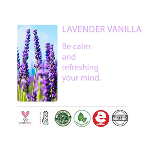 Lavender Vanilla Massage Oil