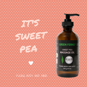 Sweet Pea Massage Oil