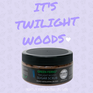 Twilight Woods Sugar Scrub