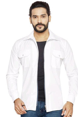 Trendy Cotton Men's Jacket
