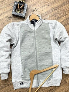 Fleece Cotton Textured Jacket