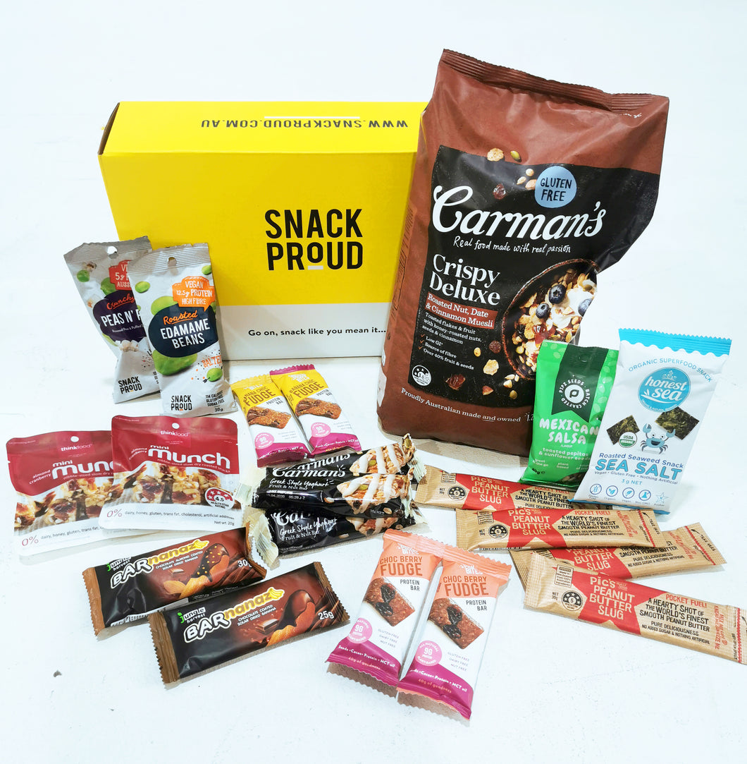 Healthy Snack Pack - Family Essentials