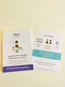 Flyers (order via MOO)