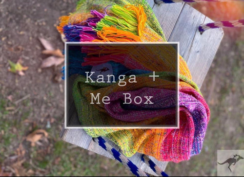 Large Kanga + Me collab Box for October