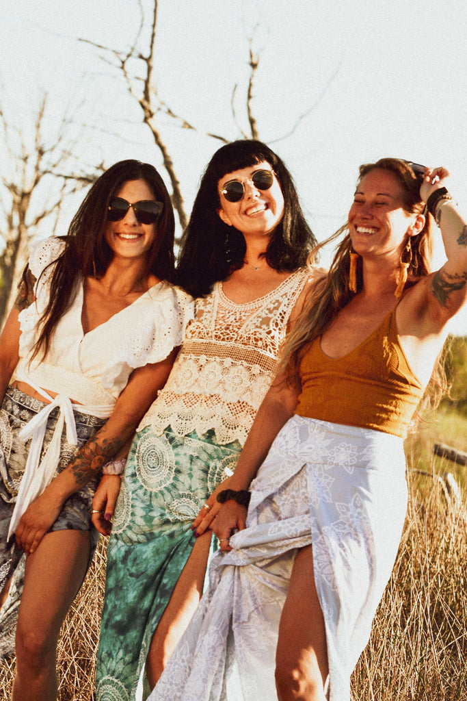 Eco friendly sustainable fashion bohemian