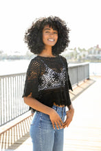 Load image into Gallery viewer, Shakti Crochet Crop Top