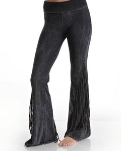 Desert Shadow Fringe Yoga Pants
