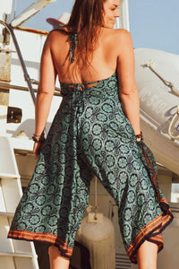 Sari Backless Fair Trade Jumpsuit