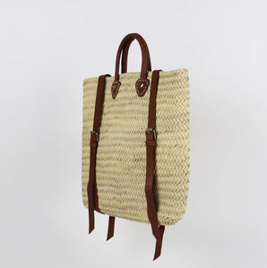 ethically made eco friendly moroccan straw bag