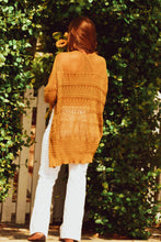 Load image into Gallery viewer, Bohemian Sunflower Cardigan