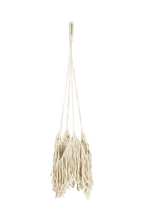 Soul of the Party Fringe Macrame Plant Hanger