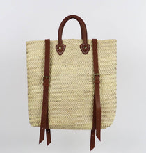 Load image into Gallery viewer, ethical eco friendly morrocon straw bag