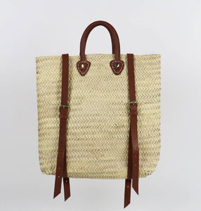 ethical eco friendly morrocon straw bag