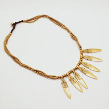 Load image into Gallery viewer, Dagger Fair Trade Necklace