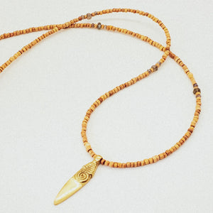 Tribal Wood Fair Trade Necklace