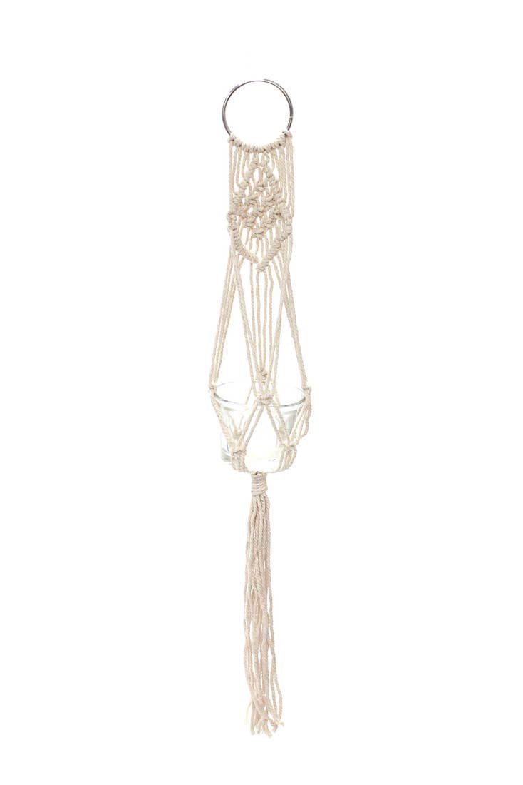 Soul of the Party Macrame Mini Plant Hanger