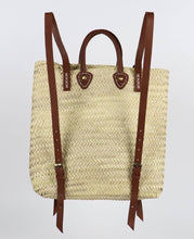 Load image into Gallery viewer, ethical eco friendly moroccan straw bag