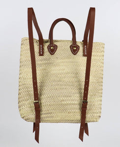 ethical eco friendly moroccan straw bag