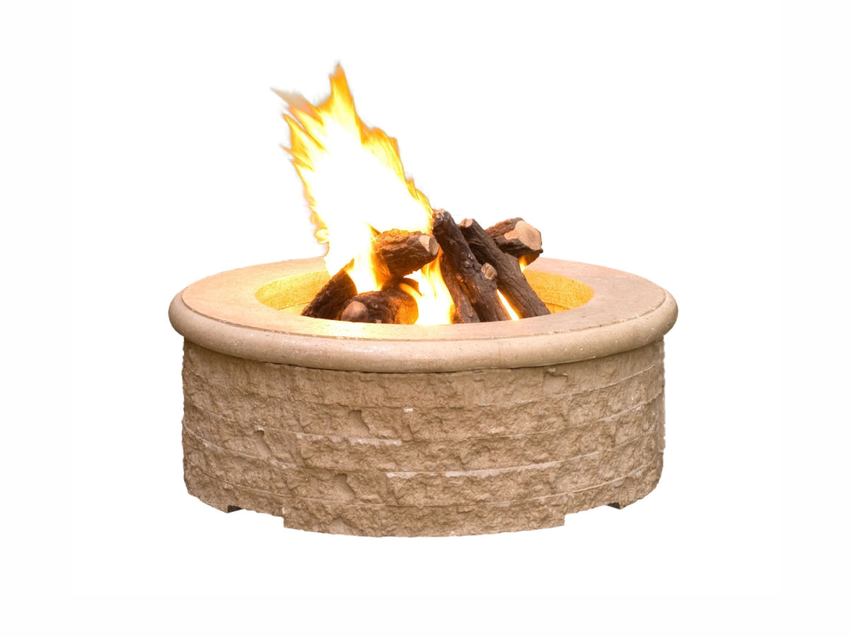 American Fyre Designs Chiseled Fire Pit - Fire Pit Oasis