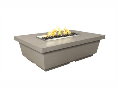 American Fyre Designs Contempo Rectangle - Fire Pit Oasis